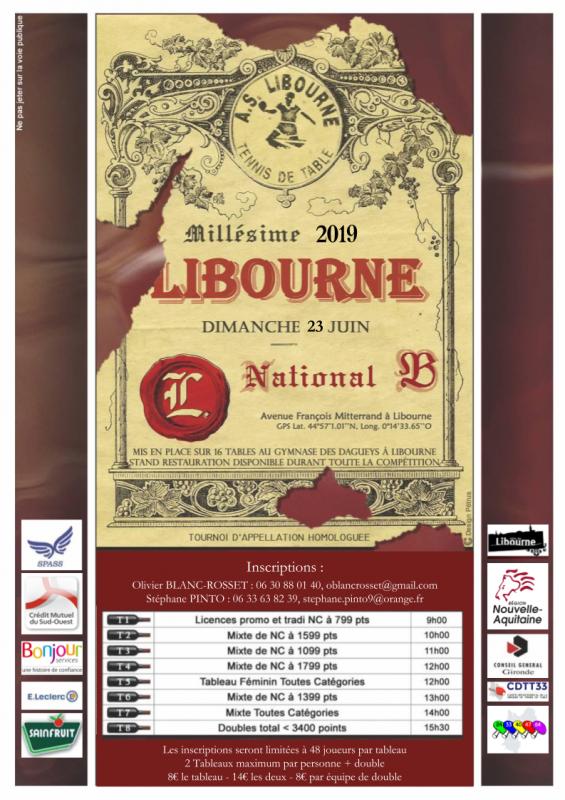 Libourne affiche tournoi 2019 a4