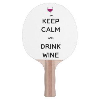 Maintenez vin calme et de boissons raquette de ping pong hamptontech r277cfac315bb452bbd47eaed88517888 zvdz5 324